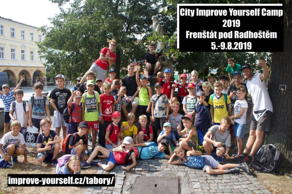 City Improve Yourself Camp 2019 – Frenštát pod Radhoštěm (5-9.8. 2019)